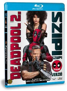 Deadpool 2. (mozi- és bővített változat) (2 BD) termékhez kapcsolódó kép