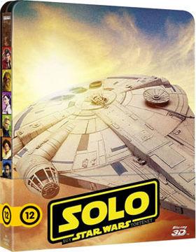 Solo: Egy Star Wars történet - limitált, fémdobozos változat (2BD) (steelbook) termékhez kapcsolódó kép