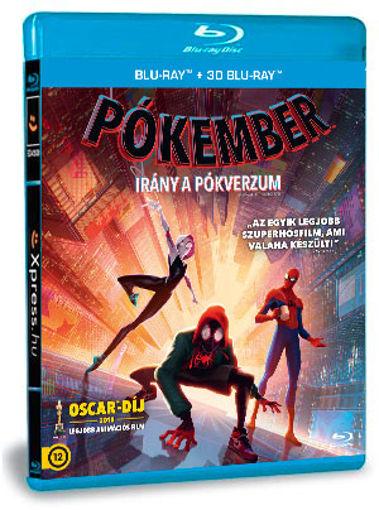 Pókember - Irány a Pókverzum (BD3D+BD) termékhez kapcsolódó kép