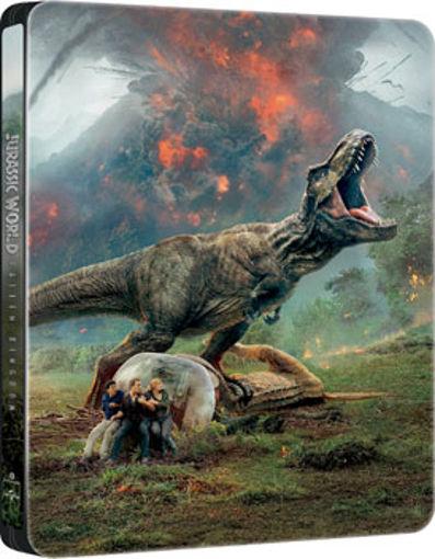 Jurassic World: Bukott birodalom (3DBD+BD) - limitált, fémdobozos változat ( T-Rex  steelbook) termékhez kapcsolódó kép