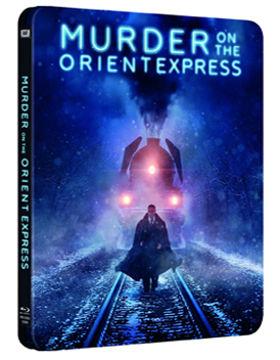 Gyilkosság az Orient Expresszen (2017) - limitált, fémdobozos változat (steelbook) termékhez kapcsolódó kép
