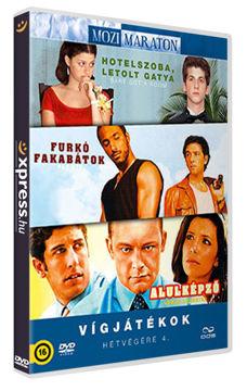 Mozimaraton: Vígjátékok hétvégére IV. (3 DVD) termékhez kapcsolódó kép