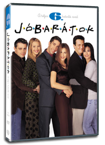 Jóbarátok - 6. évad (3 DVD) termékhez kapcsolódó kép