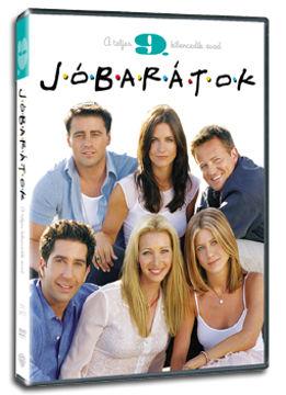 Jóbarátok - 9. évad (3 DVD) termékhez kapcsolódó kép