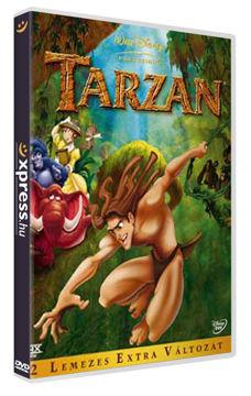 Tarzan - Extra változat (2 DVD) termékhez kapcsolódó kép