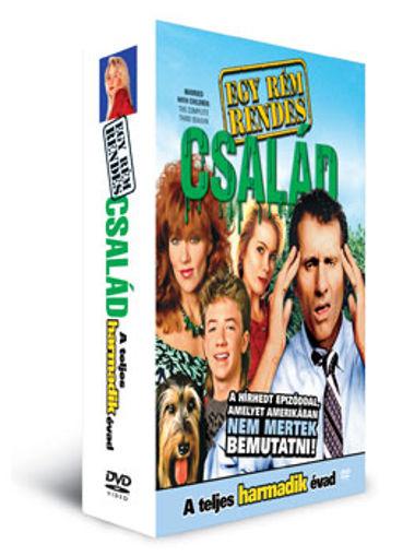 Egy rém rendes család - 3. évad (3 DVD) karton tok nélkül termékhez kapcsolódó kép