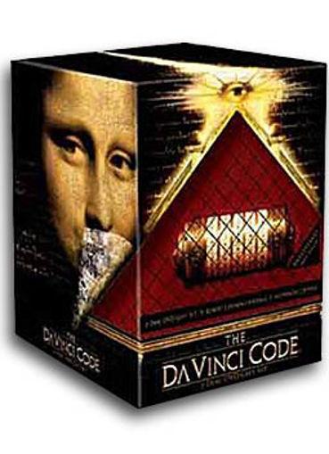 A Da Vinci-kód ajándékdoboz Cryptex-szel (2 DVD) - Limitált kiadás termékhez kapcsolódó kép