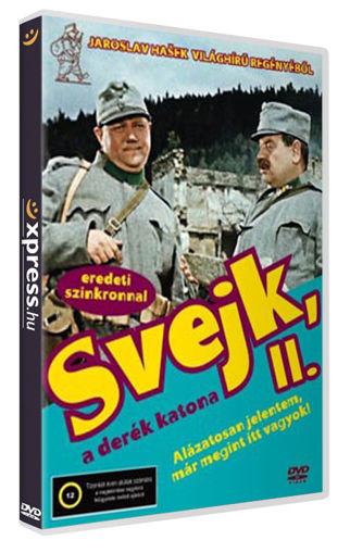 Svejk, a derék katona II. - Alázatosan jelentem már megint itt vagyok! termékhez kapcsolódó kép