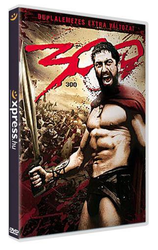 300 (2 DVD) + EXKLUZÍV EREDETI FILMPLAKÁT! termékhez kapcsolódó kép