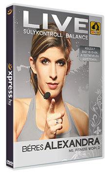 Béres Alexandra Live - Súlykontroll balance termékhez kapcsolódó kép