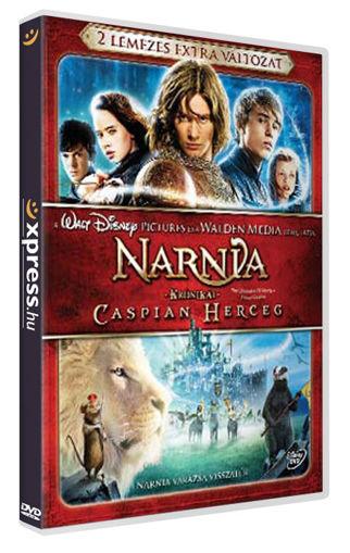 Narnia krónikái - Caspian herceg (2 DVD) termékhez kapcsolódó kép