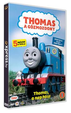 Thomas, a gőzmozdony 1. - Thomas, a nap hőse (hagyományos DVD-tokban) termékhez kapcsolódó kép