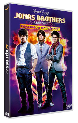 Jonas Brothers - A koncert - Feltuningolt moziváltozat (2 DVD) termékhez kapcsolódó kép