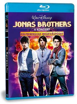 Jonas Brothers - A koncert - Feltuningolt moziváltozat (BD3D+DVD) termékhez kapcsolódó kép
