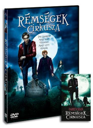 Rémségek cirkusza (DVD+KÖNYV) termékhez kapcsolódó kép