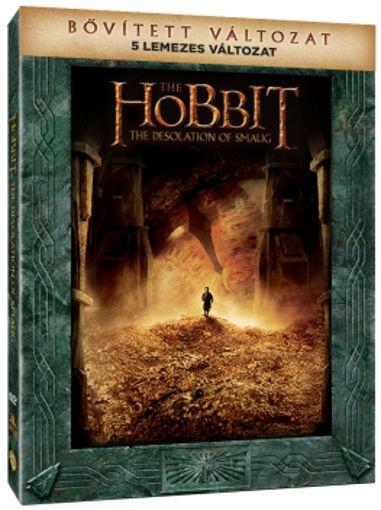 A hobbit: Smaug pusztasága - bővített, extra változat (5 DVD) (limitált, digipackos változat) termékhez kapcsolódó kép