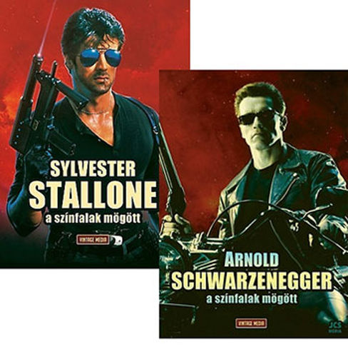 Arnold Schwarzenegger - A színfalak mögött + Sylvester Stallone - A színfalak mögött - Könyvcsomag termékhez kapcsolódó kép