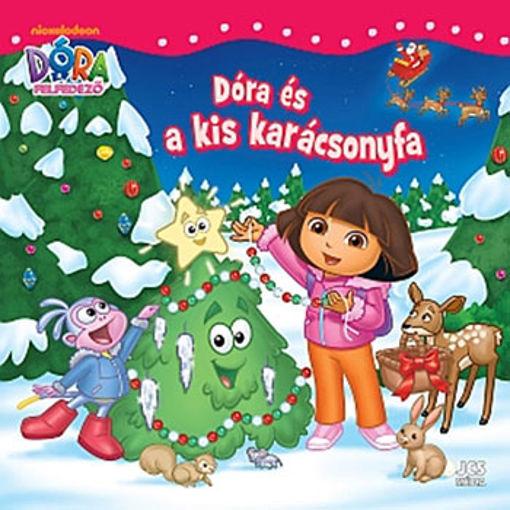 Dóra, a felfedező - Dóra és a kis karácsonyfa termékhez kapcsolódó kép