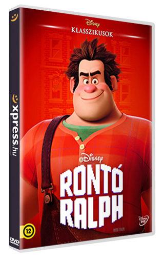 Rontó Ralph (O-ringes, gyűjthető borítóval) termékhez kapcsolódó kép