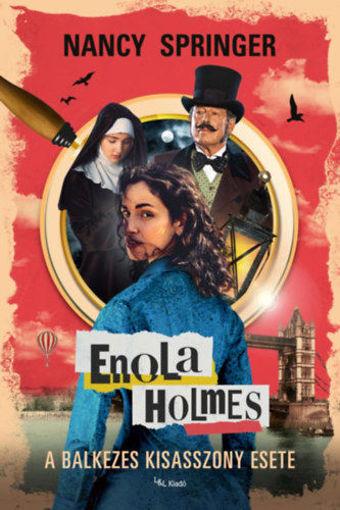 Enola Holmes - A balkezes kisasszony esete termékhez kapcsolódó kép