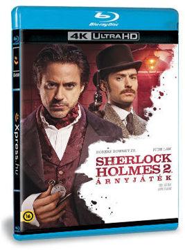 Sherlock Holmes 2. - Árnyjáték (UHD+BD) termékhez kapcsolódó kép