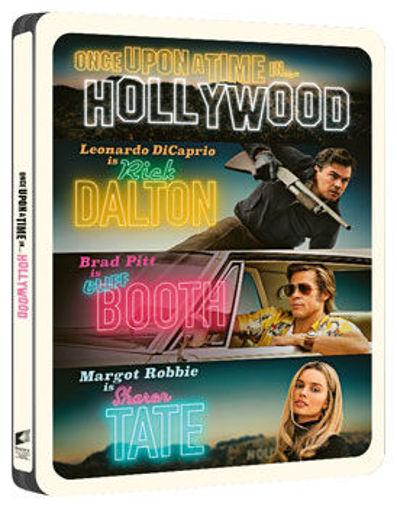 Volt egyszer egy... Hollywood (4K UHD+BD+képeslapok) - limitált, fémdobozos változat (steelbook) termékhez kapcsolódó kép