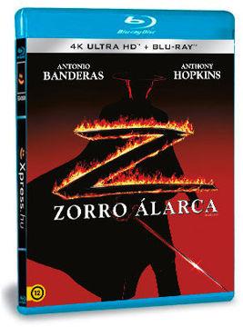 Zorro álarca (4K UHD+BD) termékhez kapcsolódó kép