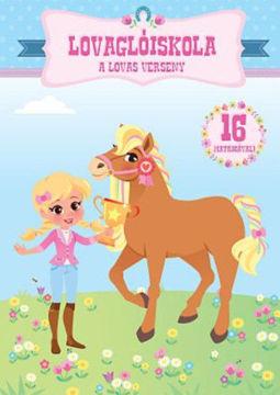 Lovaglóiskola - A lovas verseny termékhez kapcsolódó kép