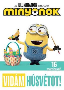 Minyonok - Vidám Húsvétot! termékhez kapcsolódó kép