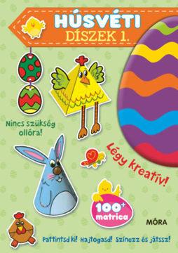 Húsvéti díszek 1.  - Pattintsd ki! Hajtogasd! Színezz és játssz! termékhez kapcsolódó kép