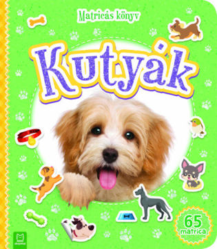 Matricás könyv - Kutyák termékhez kapcsolódó kép
