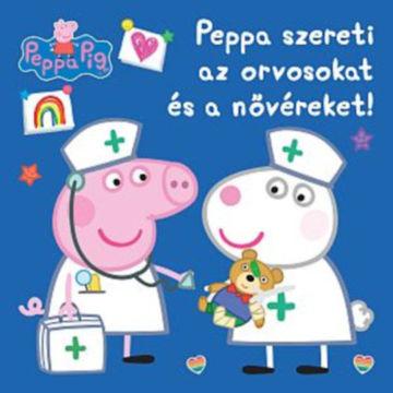 Peppa malac - Peppa szereti az orvosokat és a nővéreket! termékhez kapcsolódó kép