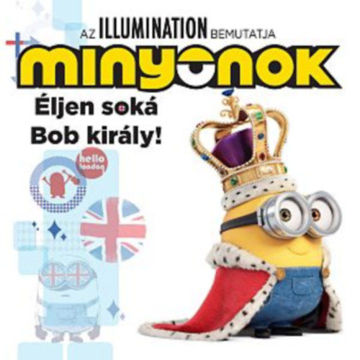 Minyonok - Éljen soká Bob király! termékhez kapcsolódó kép