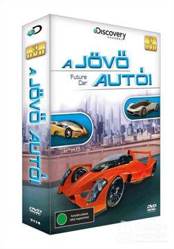 A jövő autói díszdoboz (3 DVD) termékhez kapcsolódó kép