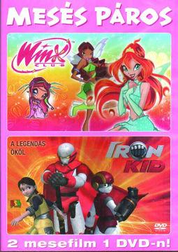 Mesés páros (Winx 2. évad 1. - Iron kid 1.) - 2 mese 1 DVD-n termékhez kapcsolódó kép