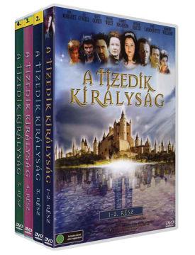 Tizedik királyság 1-5. - a teljes sorozat, de gyűjtődoboz nélkül termékhez kapcsolódó kép