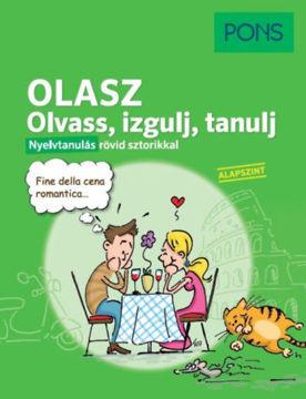 PONS Olasz Olvass, izgulj, tanulj - Nyelvtanulás rövid sztorikkal termékhez kapcsolódó kép