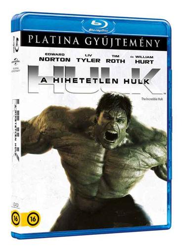 A hihetetlen Hulk (Blu-ray) (Platina gyűjtemény) termékhez kapcsolódó kép