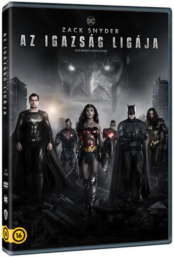 Zack Snyder: Az Igazság Ligája (2021) (2 DVD) termékhez kapcsolódó kép