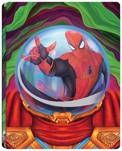 Pókember: Idegenben (UHD+BD) - limitált, fémdobozos változat (Mysterio steelbook) termékhez kapcsolódó kép