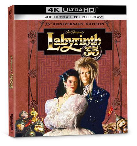 Fantasztikus labirintus - 35 éves jubileumi limitált, digibook változat (UHD+BD) termékhez kapcsolódó kép