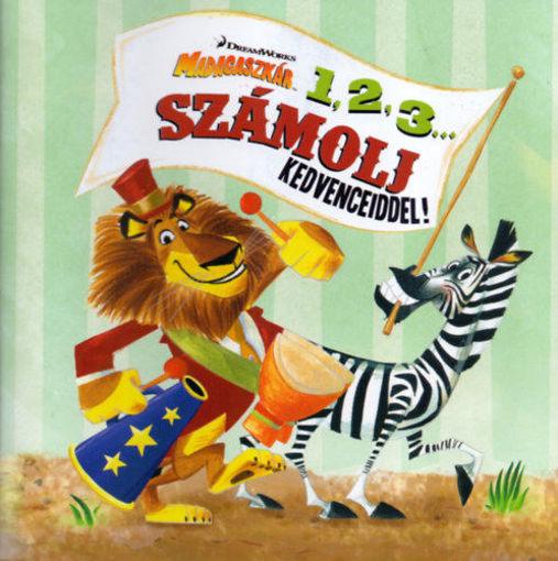 Madagaszkár - 1, 2, 3... - Számolj kedvenceiddel! / Színek a vonaton termékhez kapcsolódó kép