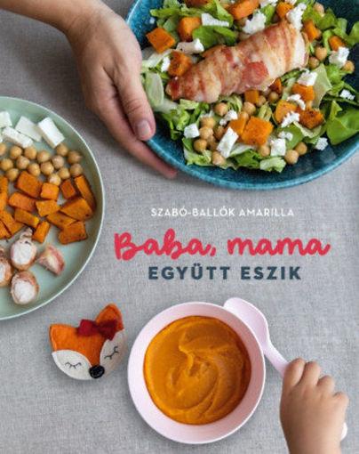 Baba, mama együtt eszik termékhez kapcsolódó kép